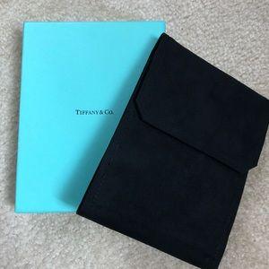 Tiffany & Co. jewelry velvet case